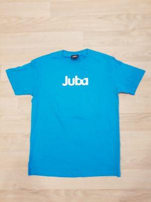 T-skjorte blå med logo